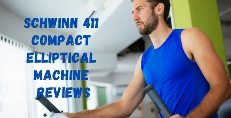 Schwinn 411 Compact Elliptical machine