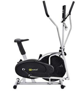 Goplus 2 in elliptical fan bike