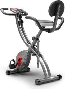 DELGC Folding Exercise Bike Dynamic Bicycle