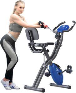 Merax 3 in 1 Adjustable Folding Exercise Bike