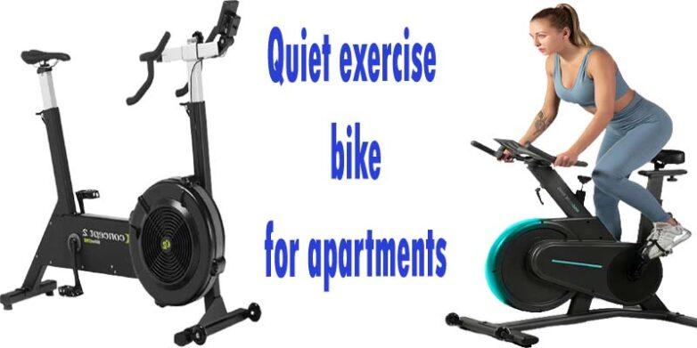 quiet exercise bike for apartments