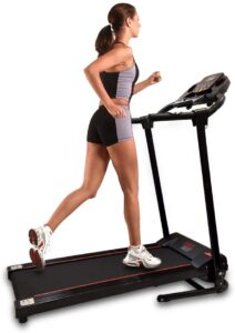 SereneLife SLFTRD18 - Smart Folding Compact Treadmill