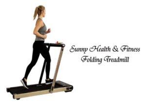 Sunny Health & Fitness ASUNA Premium Slim Folding Treadmill