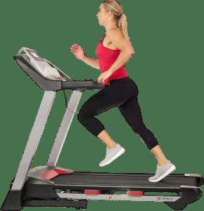 Sunny Health & Fitness Folding Treadmill for Home Exercise